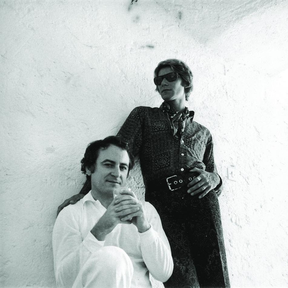 Pierre Berger e Yves Saint Laurent
