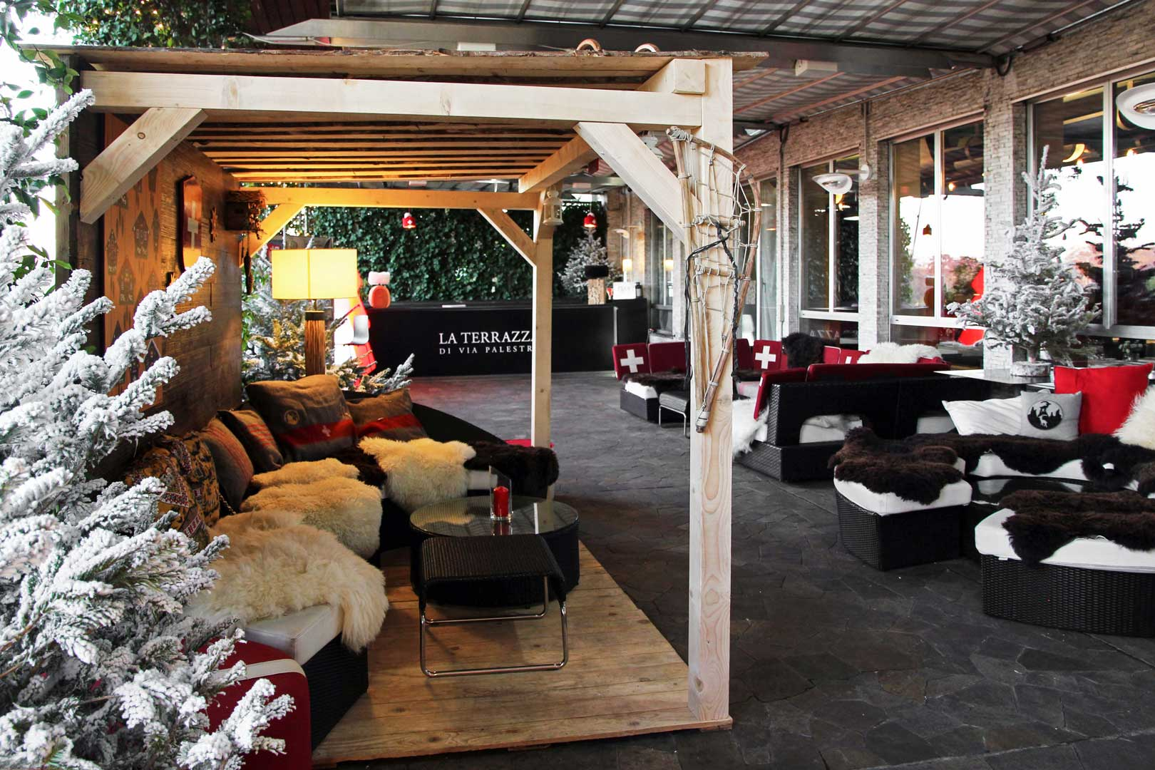 Swiss winter lounge | The Travel News