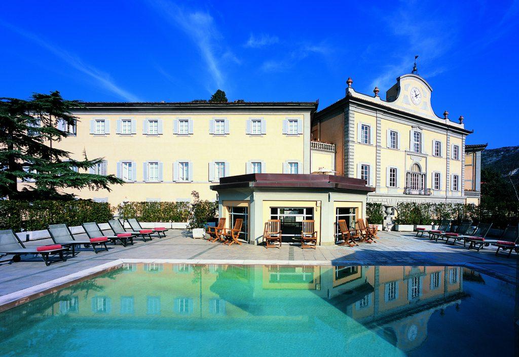 Bagni di Pisa, la piscina esterna