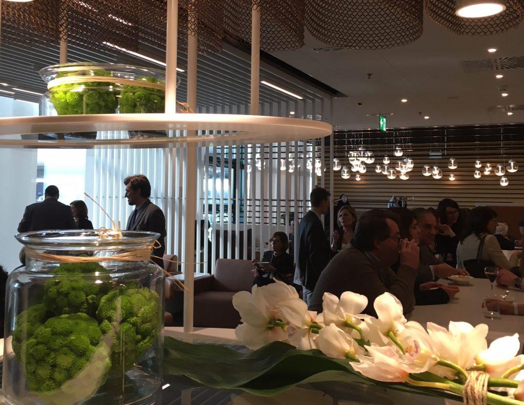Inaugurazione della lounge Lufthansa a Malpensa
