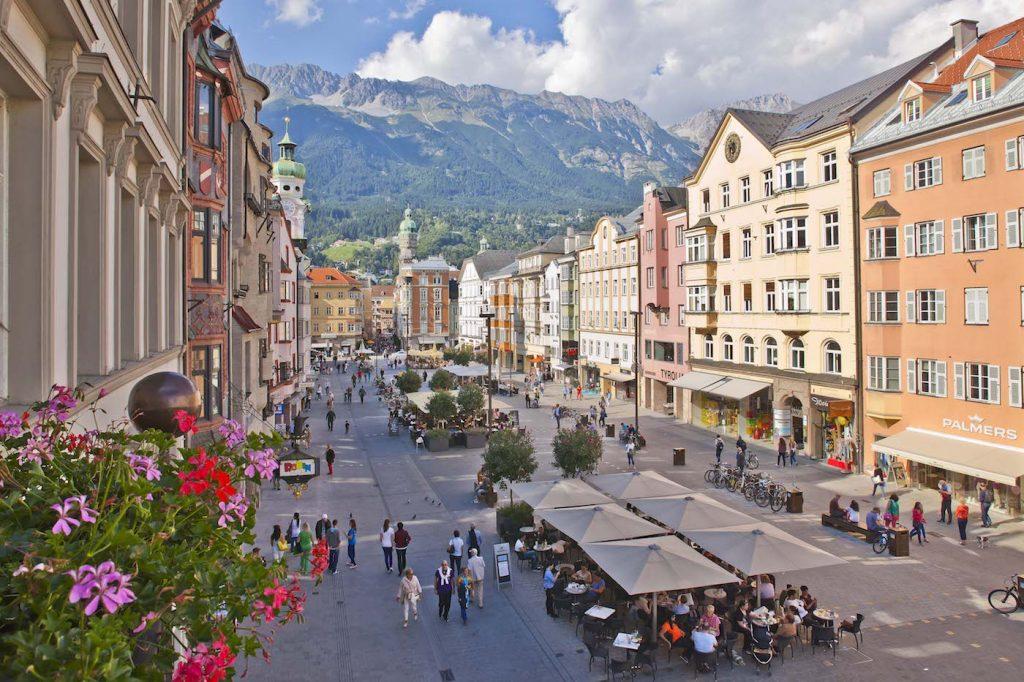 Innsbruck_Maria Theresien Strasse