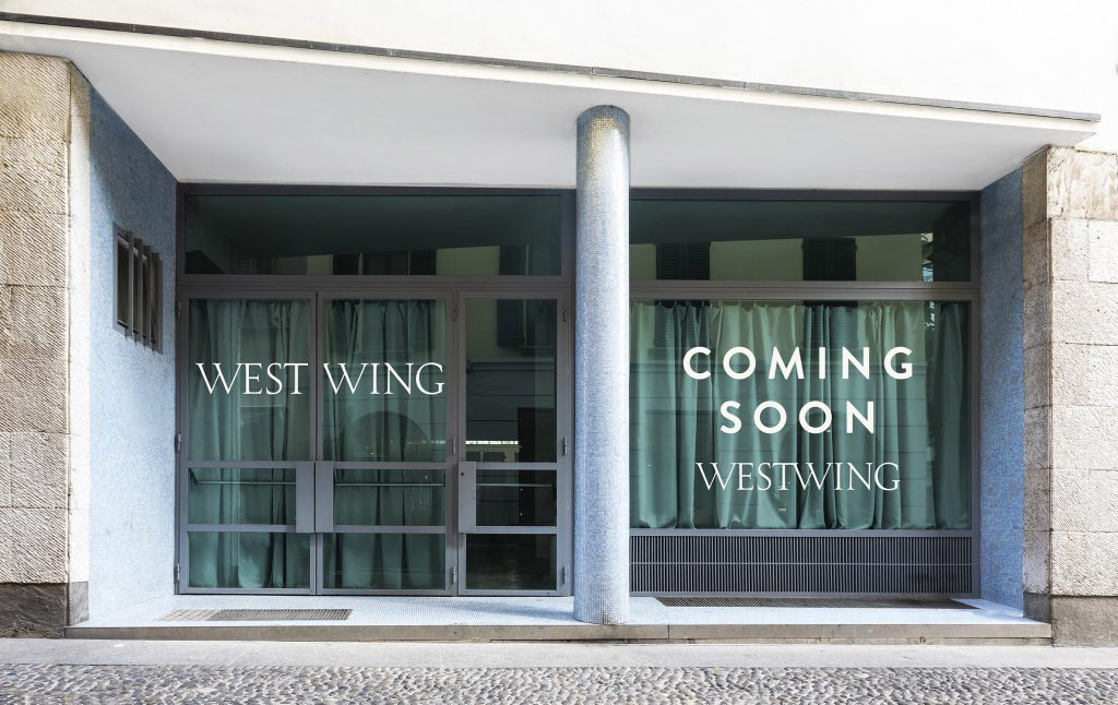 Pop-up Store Westwing - FRONTE