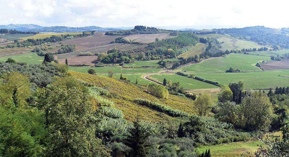 Le colline dell'Alta Valdera