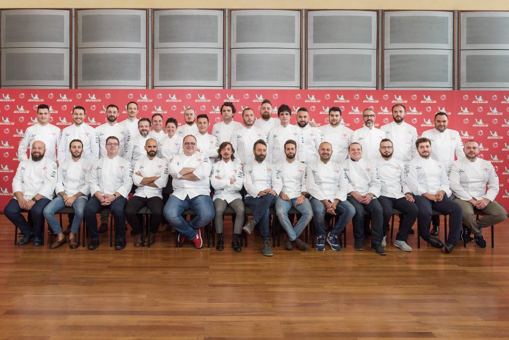Le new entry della Guida Michelin 2019