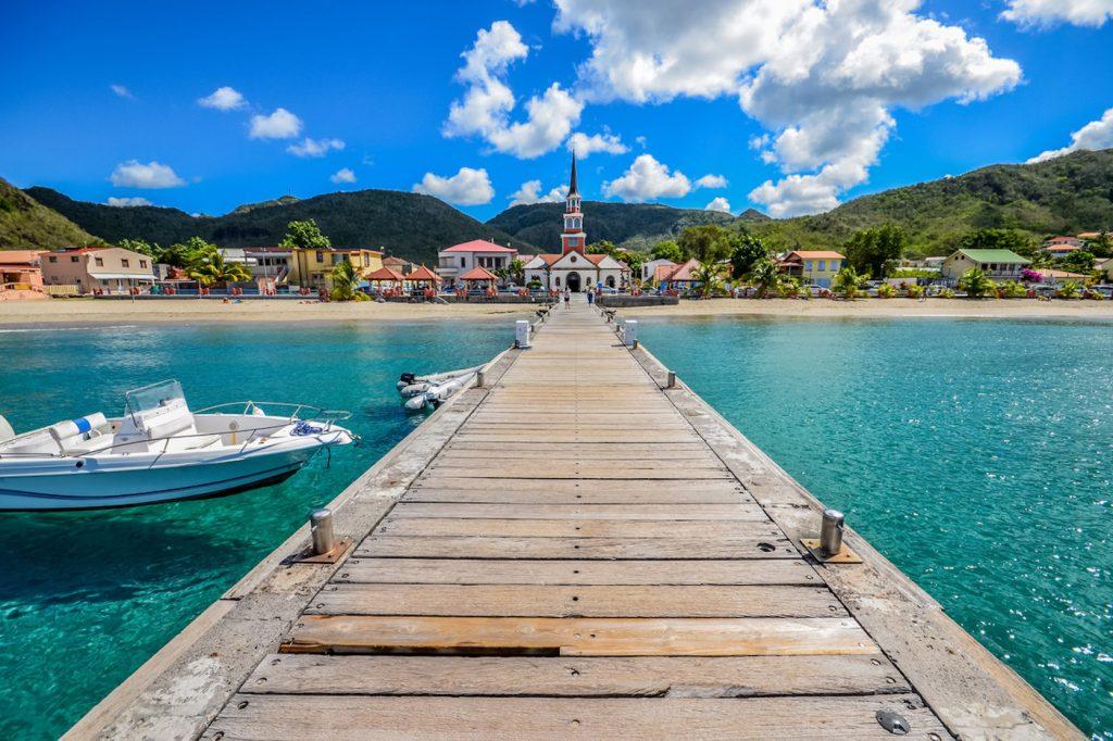 L'Anse d'Arlet alla Martinica