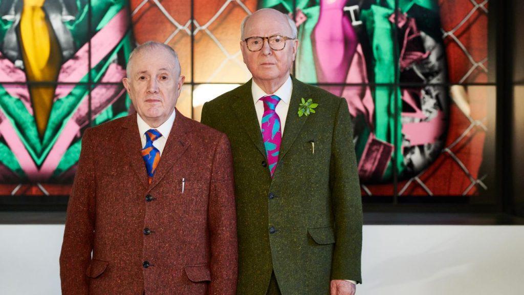 Gli artisti inglesi Gilbert & George