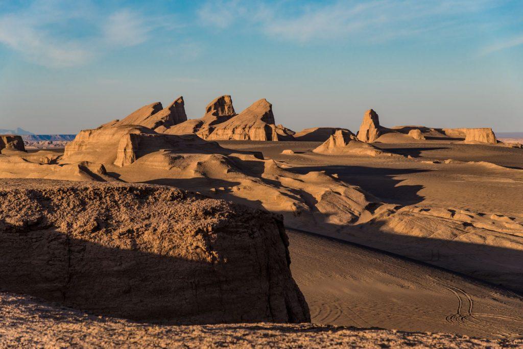 Iran paesaggio deserto bassa