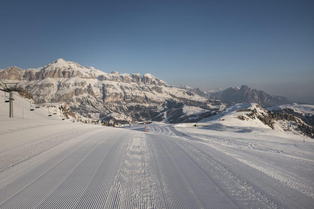 La ski area del Porta Vescovo Dolomiti Resort