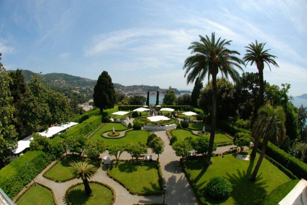 Villa Marigola a Lerici (SP) - foto Archivio Grandi Giardini Italiani
