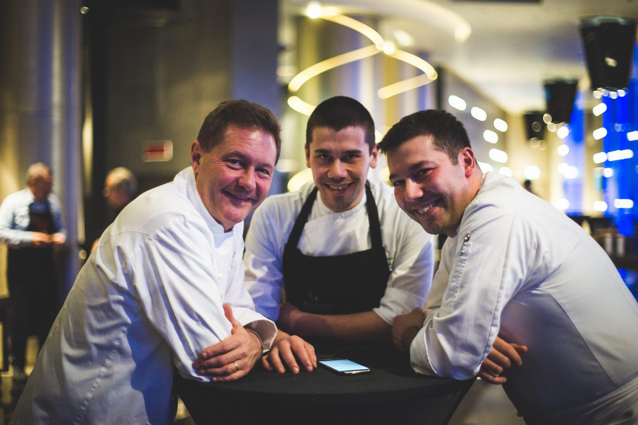 Chicco Cerea, Antonio e Vincenzo Lebano