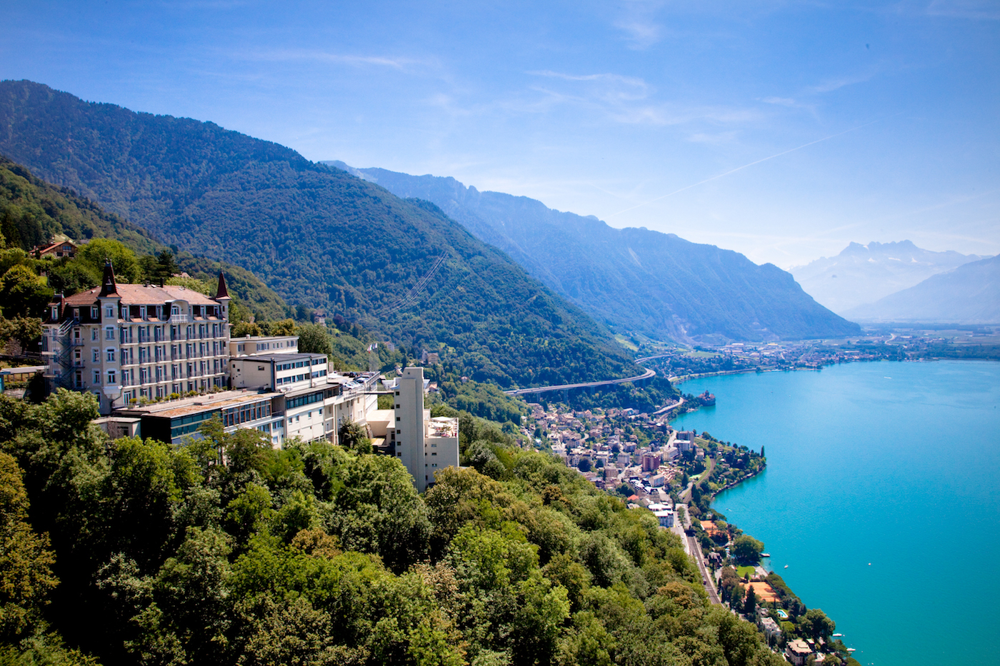 Il Campus del Glion Institute of Higher Education