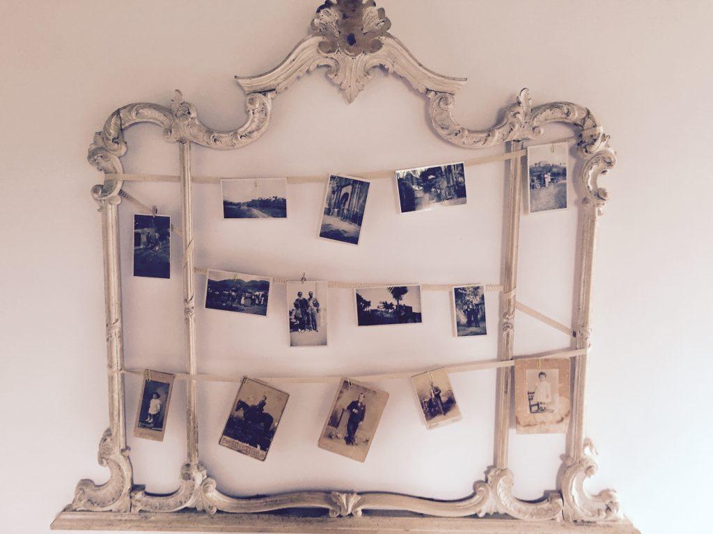 Tenute Pacelli: foto e mobili di famiglia per arredare le camere degli ospiti.