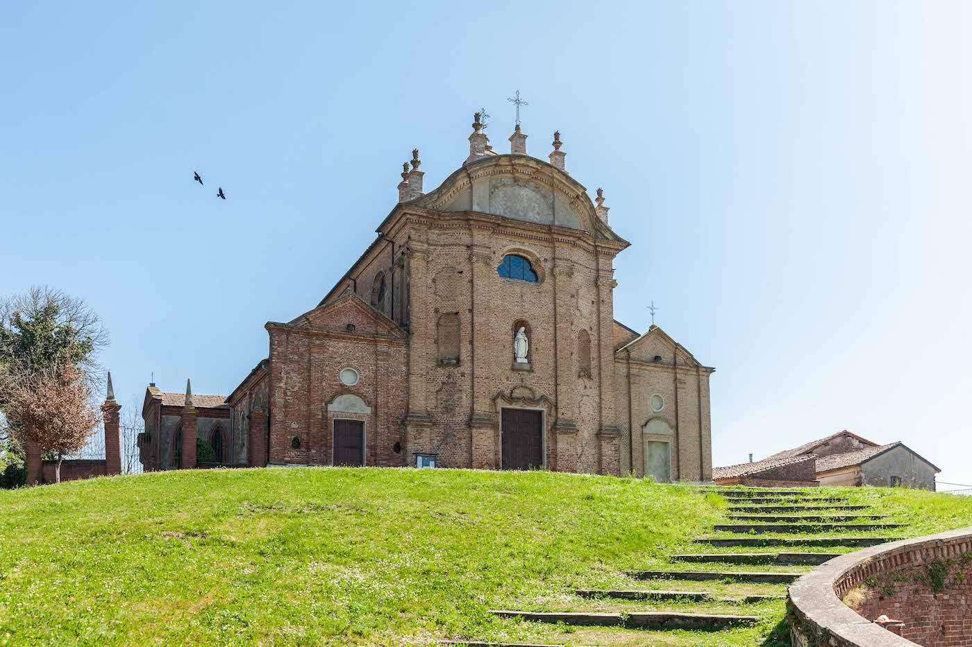 La Chiesa di San Lorenzo a Camino, in provincia di Alessandria