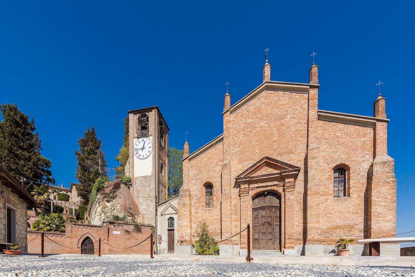 La chiesa di San Salvatore a Ozzano Monferrato