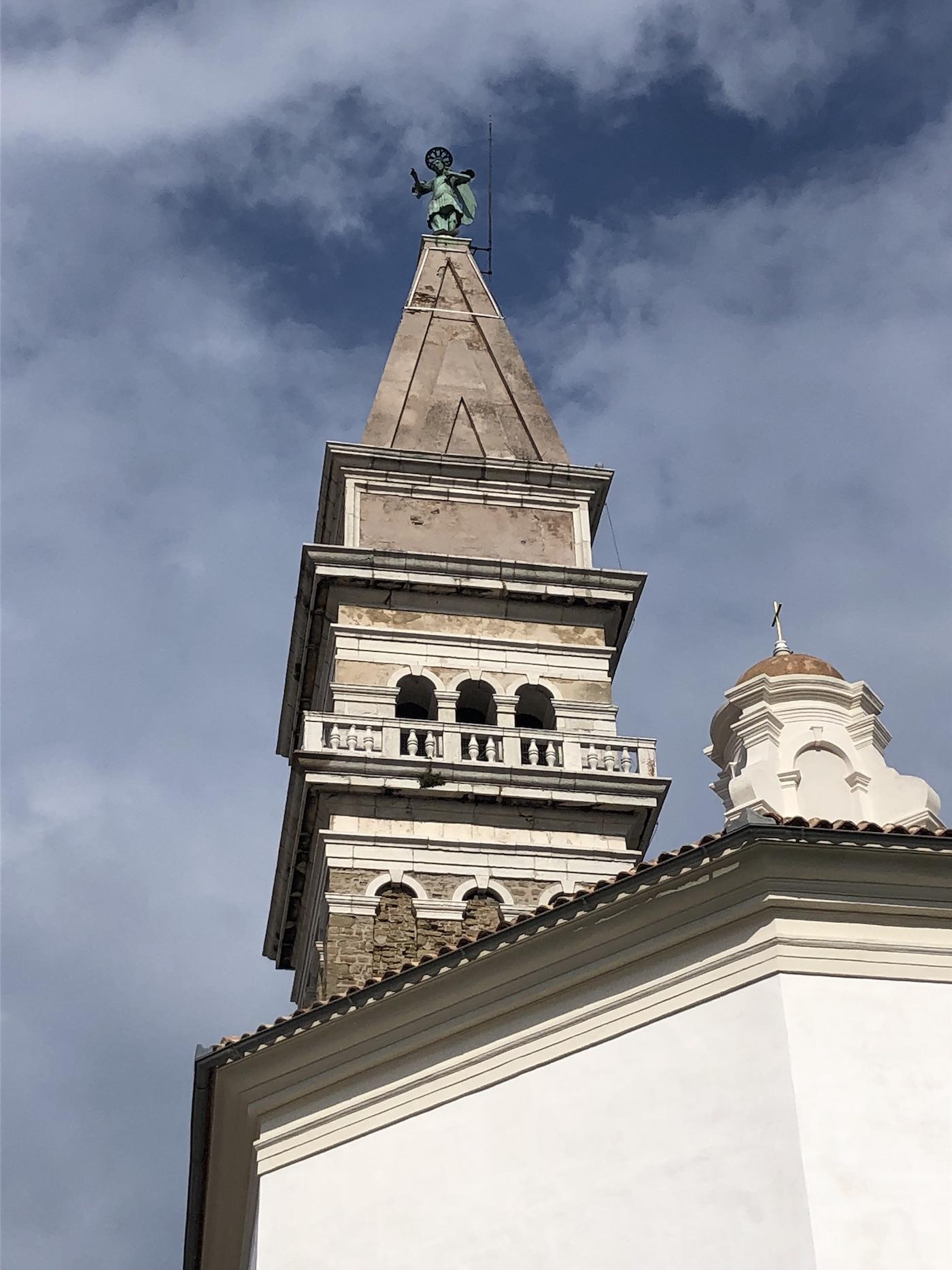 Il campanile di Pirano, copia di quello di San Marco a Venezia
