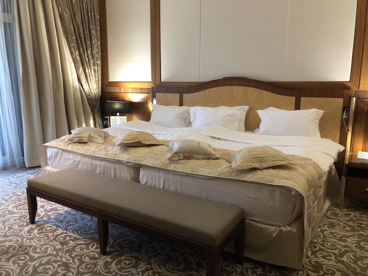 Una suite dell'hotel Kempinski Palace Portorož