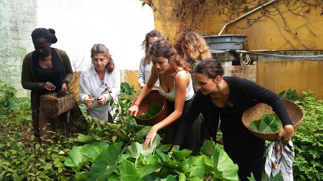 Studentesse dell'Università di Scienze Gastronomiche di Pollenzo, in Piemonte.