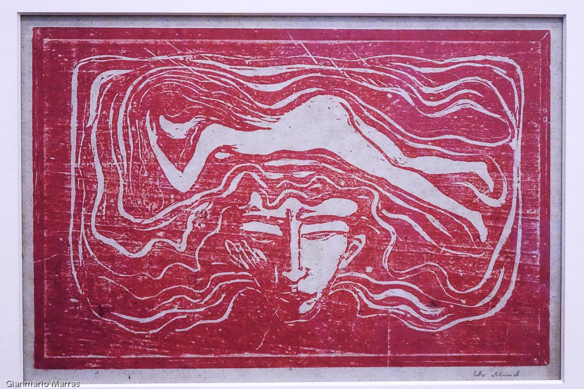Edvard Munch - Nel cervello dell'uomo 1897 - MASI Lugano