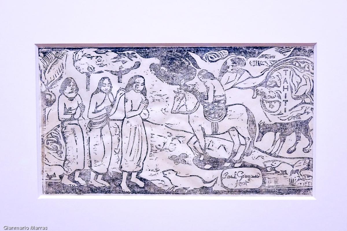 Paul Gauguin - Changement de résidence 1899 - MASI Lugano
