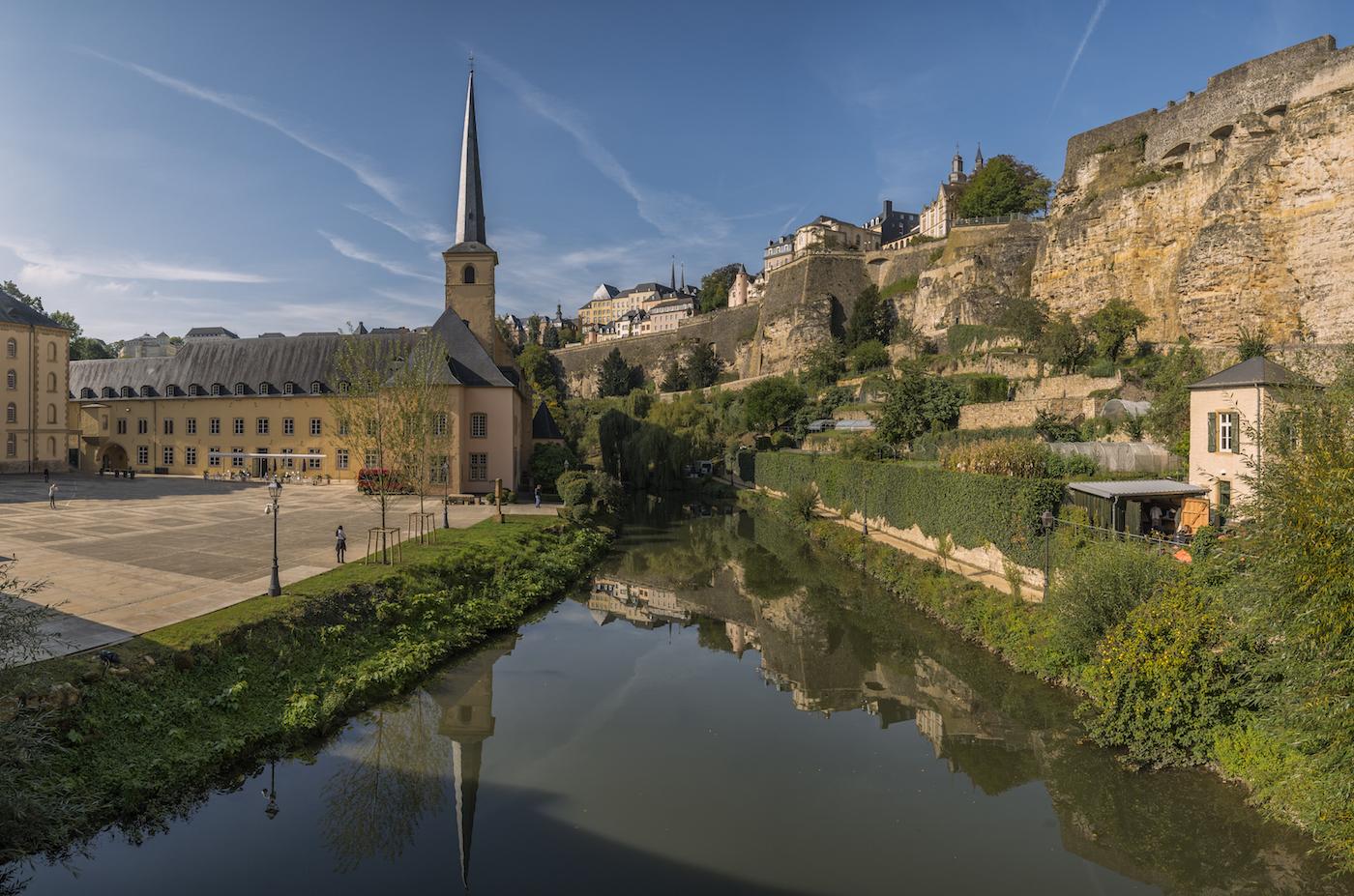 Uno scorcio della Vieille ville a Lussemburgo - foto A. Salgueiro www.alsalphotography.com/LFT