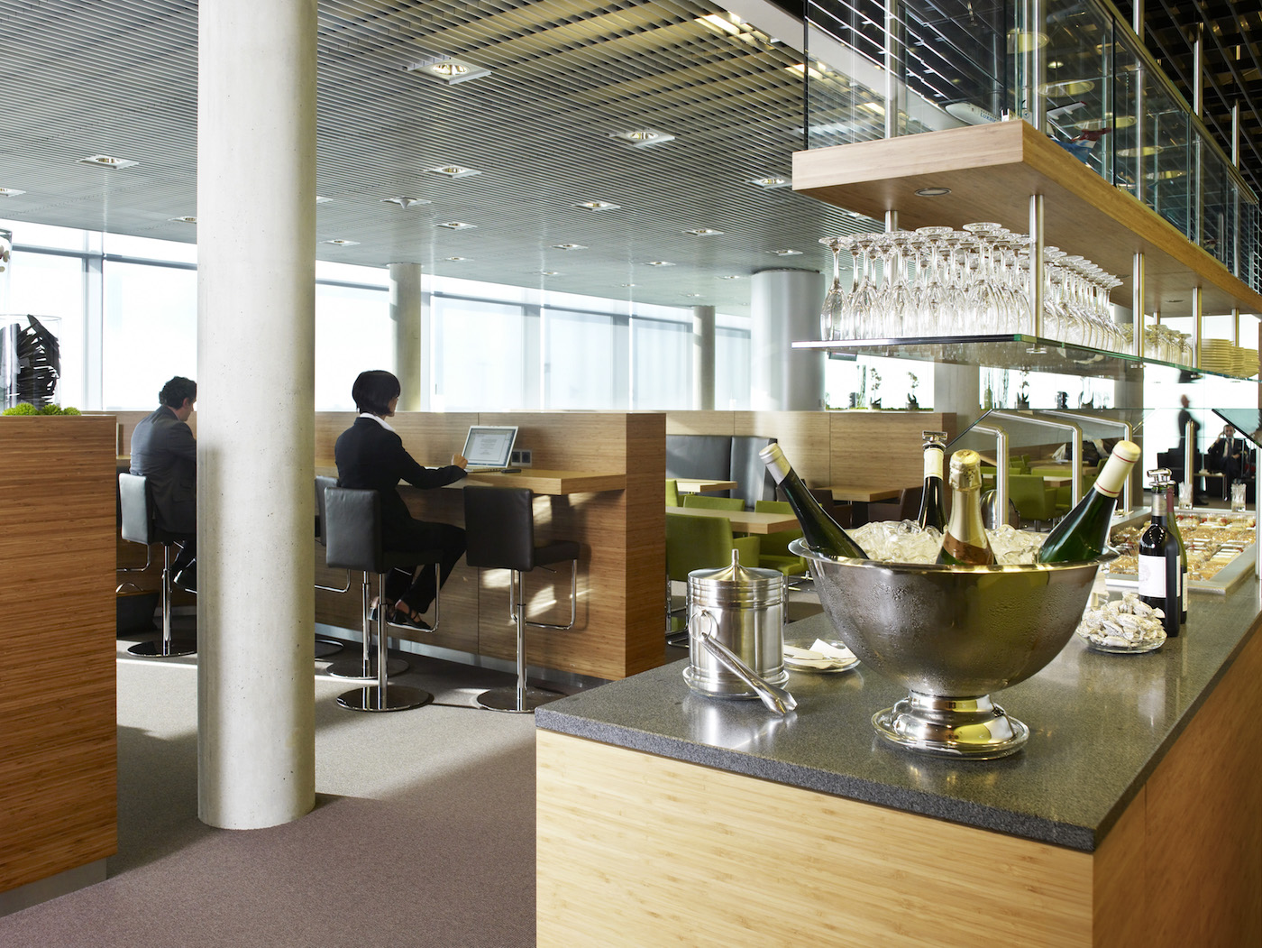 La Lounge Luxair a Lussemburgo