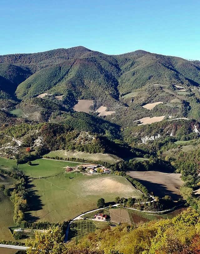 Il territorio di Cantiano. ©Beatrice Bartoccioni