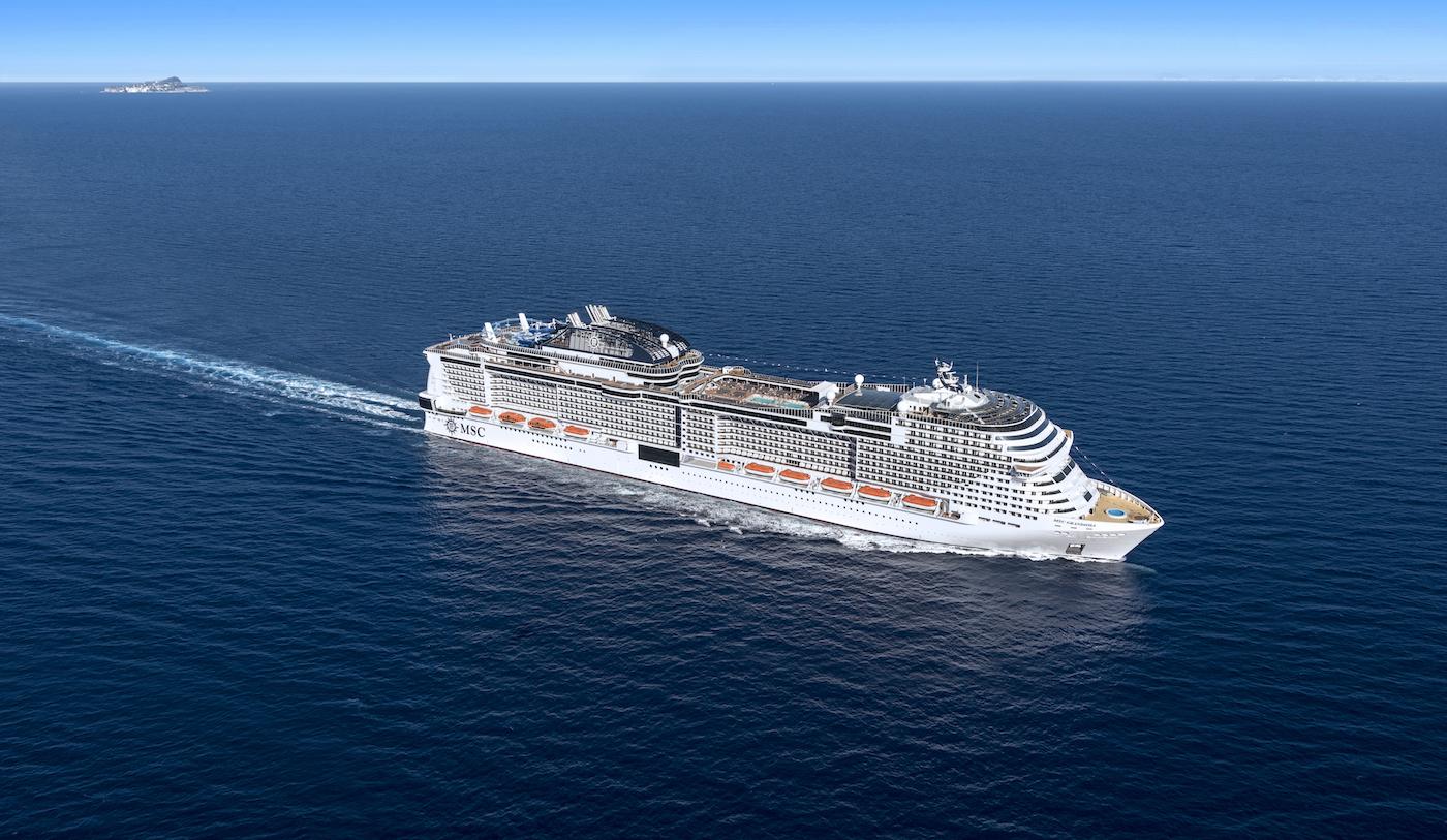 Msc Grandiosa, nave che verrà battezzata il prossimo 9 novembre ad Amburgo