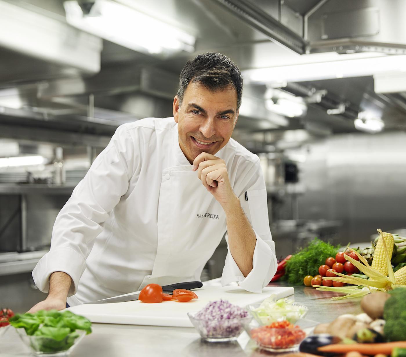 Lo chef Ramón Freixa