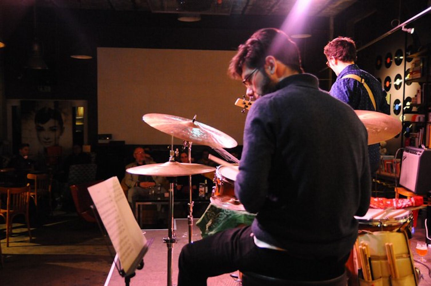 Un concerto all'Ancien Cinéma Café Club 23 di Vianden
