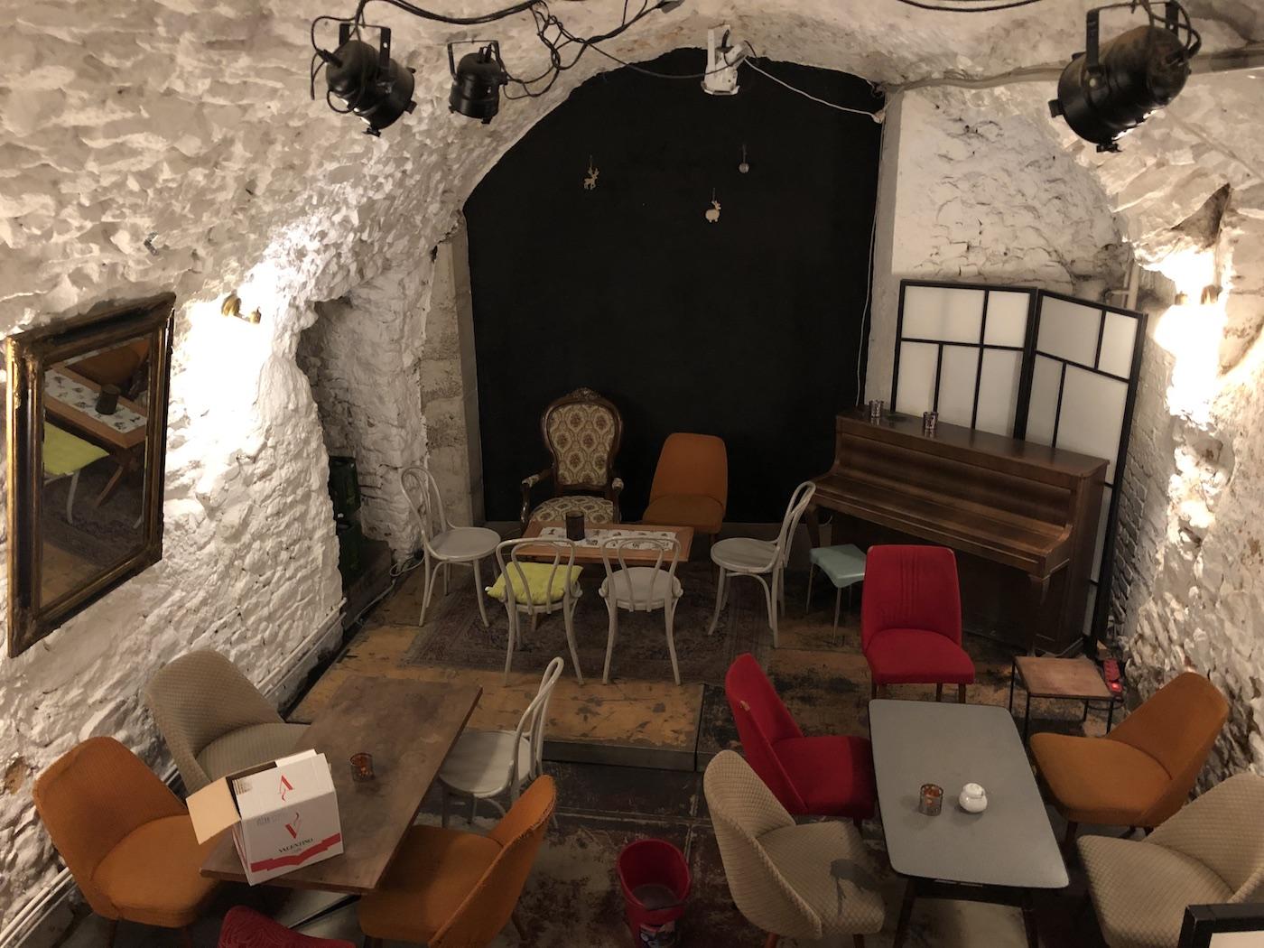 Una saletta del Konrad Café & Bar
