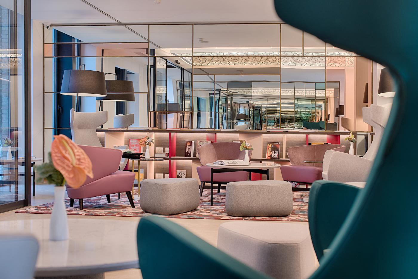 La lobby dell'hotel NH Rio Novo
