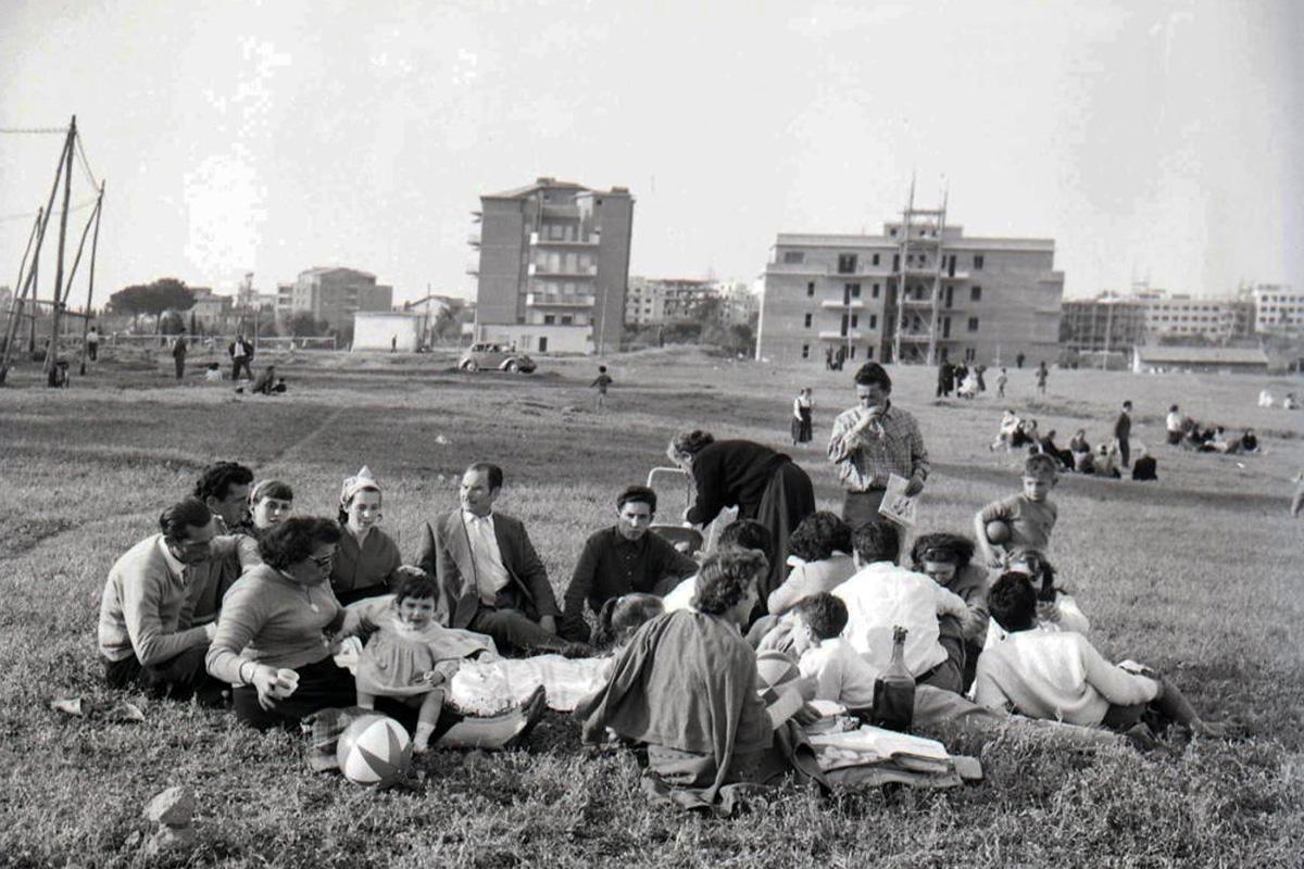 Picnic di Pasquetta, 22 aprile 1957
