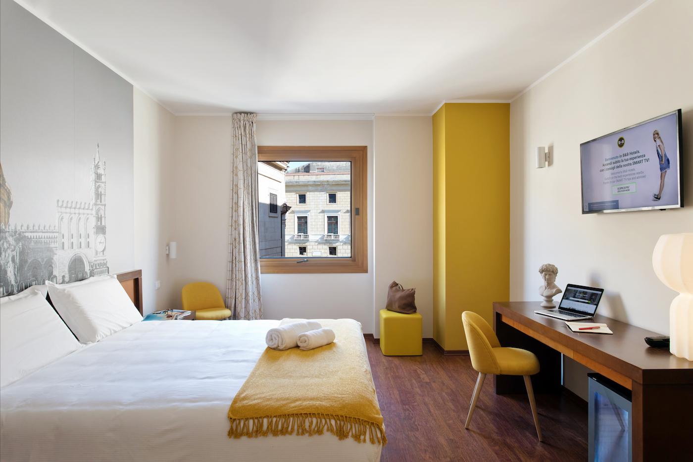 Una camera dell'hotel - foto Benedetto Tarantino