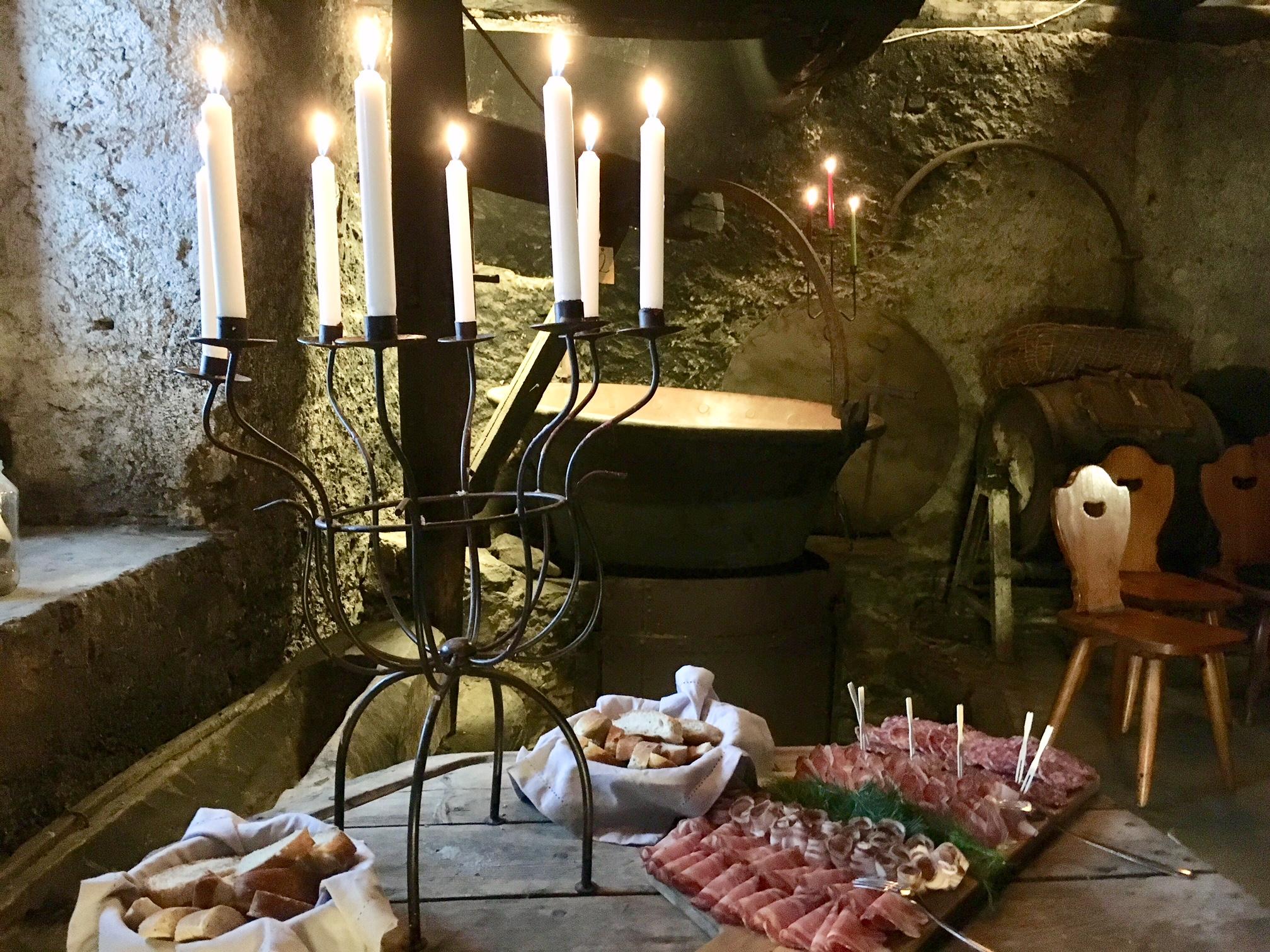 Cene al lune di candela per gli innamorati (Germana Cabrelle)