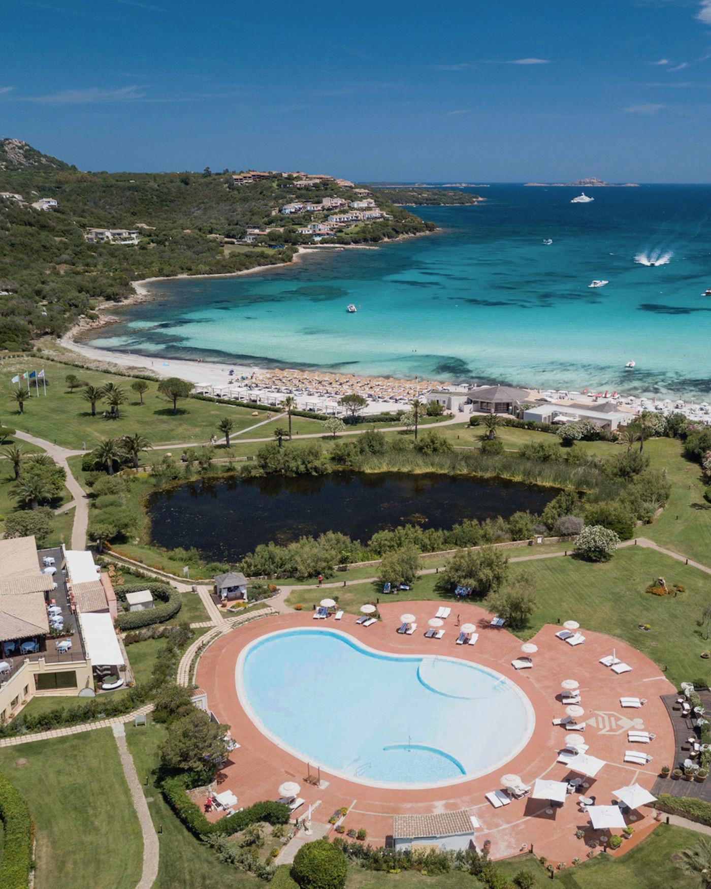 Vista aerea dell'Abi d'Oru Hotel & Spa