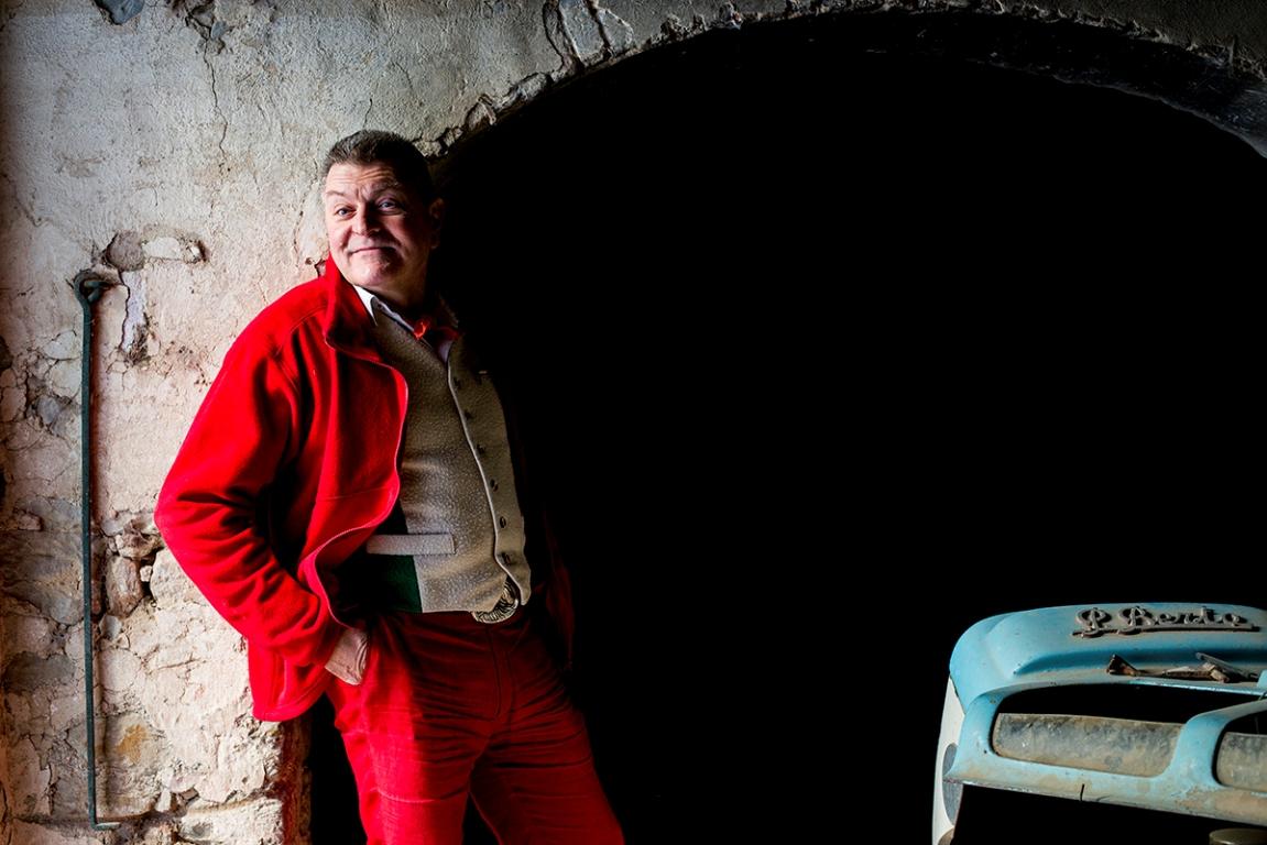 Dario Cecchini, butcher poet in Panzano, Chianti.