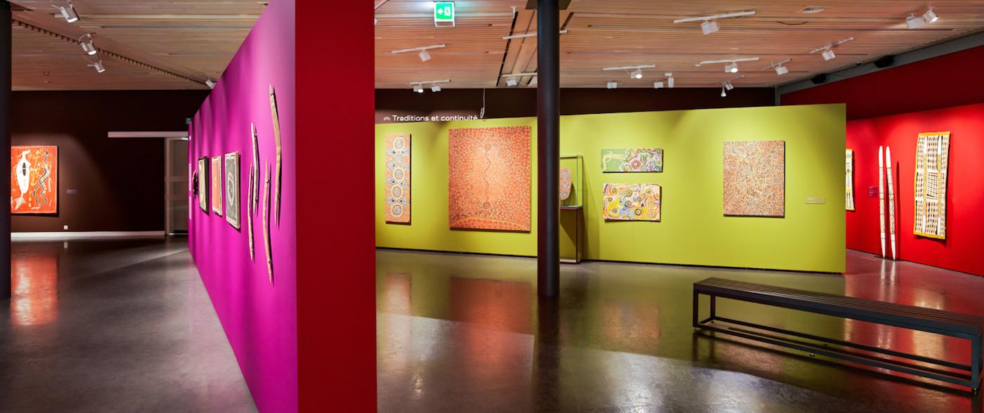 Una sala della Fondation Opale - foto Olivier Maire