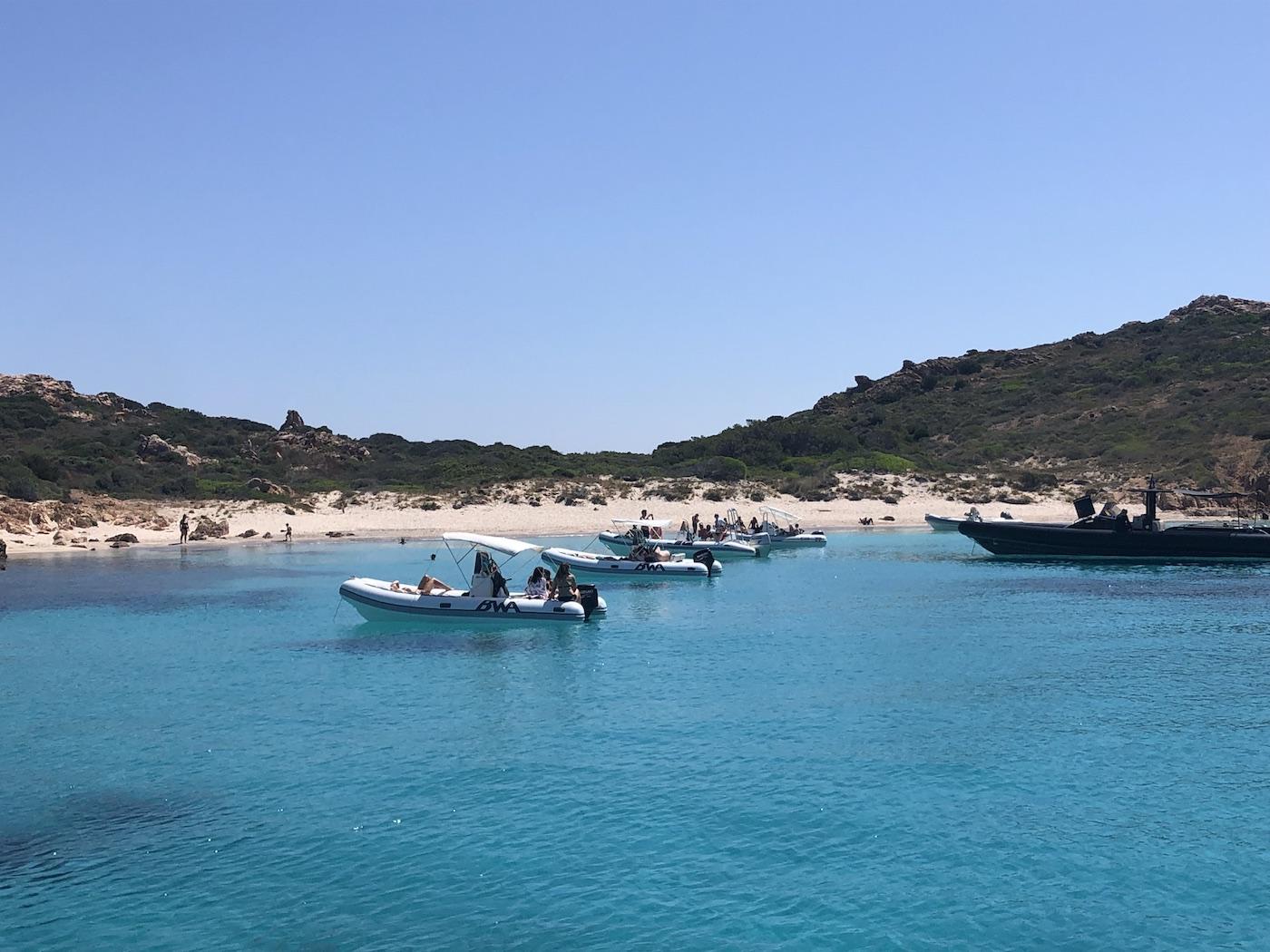 L'isola di Mortorio, raggiungibile in barca da Porto Rotondo
