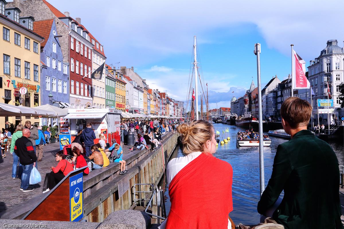 Copenaghen - Nyhavn l'antico porto della città