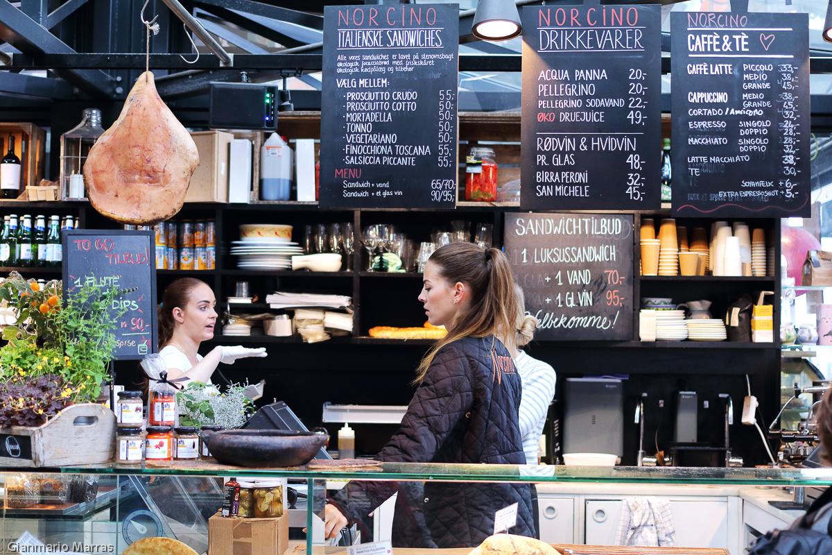 Copenaghen - Mercato alimentare Torvehallerne