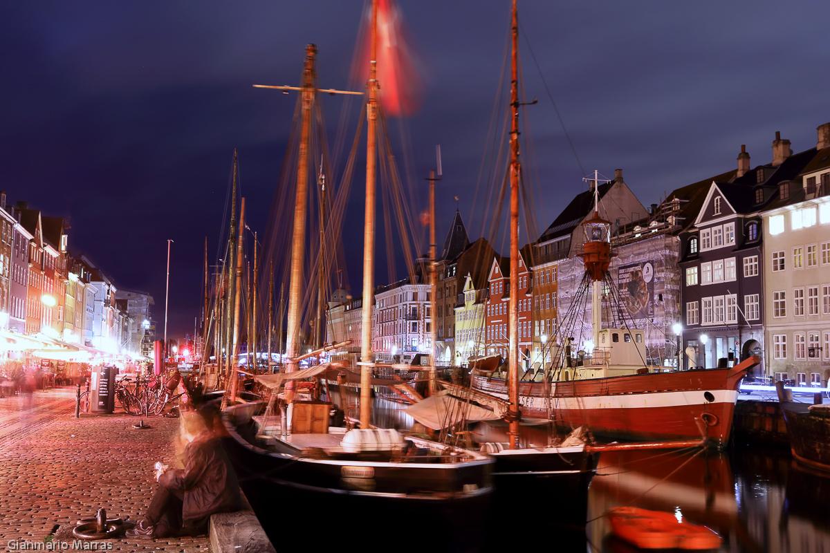Copenaghen - Nyhavn, il vecchio porto.