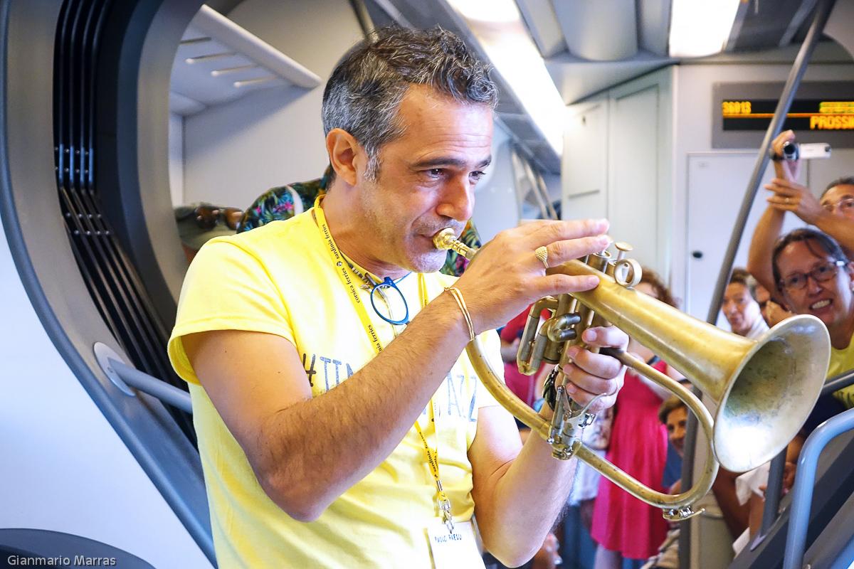 Paolo Fresu - Concerto in treno
