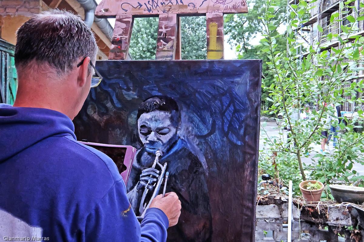 Copenhagen – La bottega d'arte di Marios Orozco a Christiania