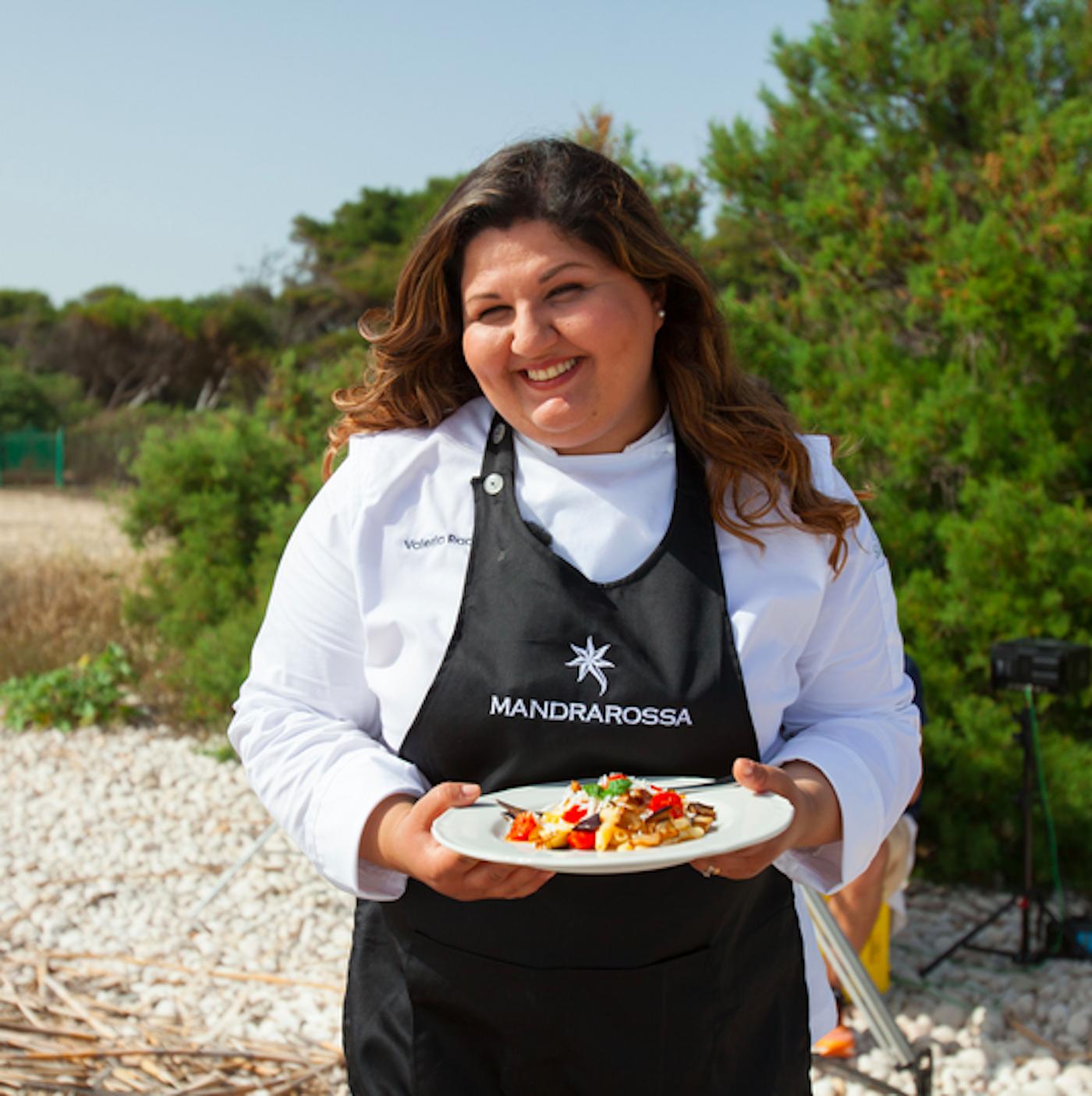 La chef Valeria Raciti