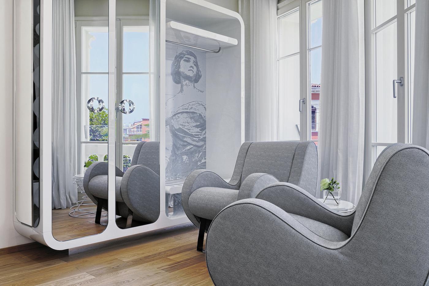 Una stanza dell'hotel - foto Andrea Sarti