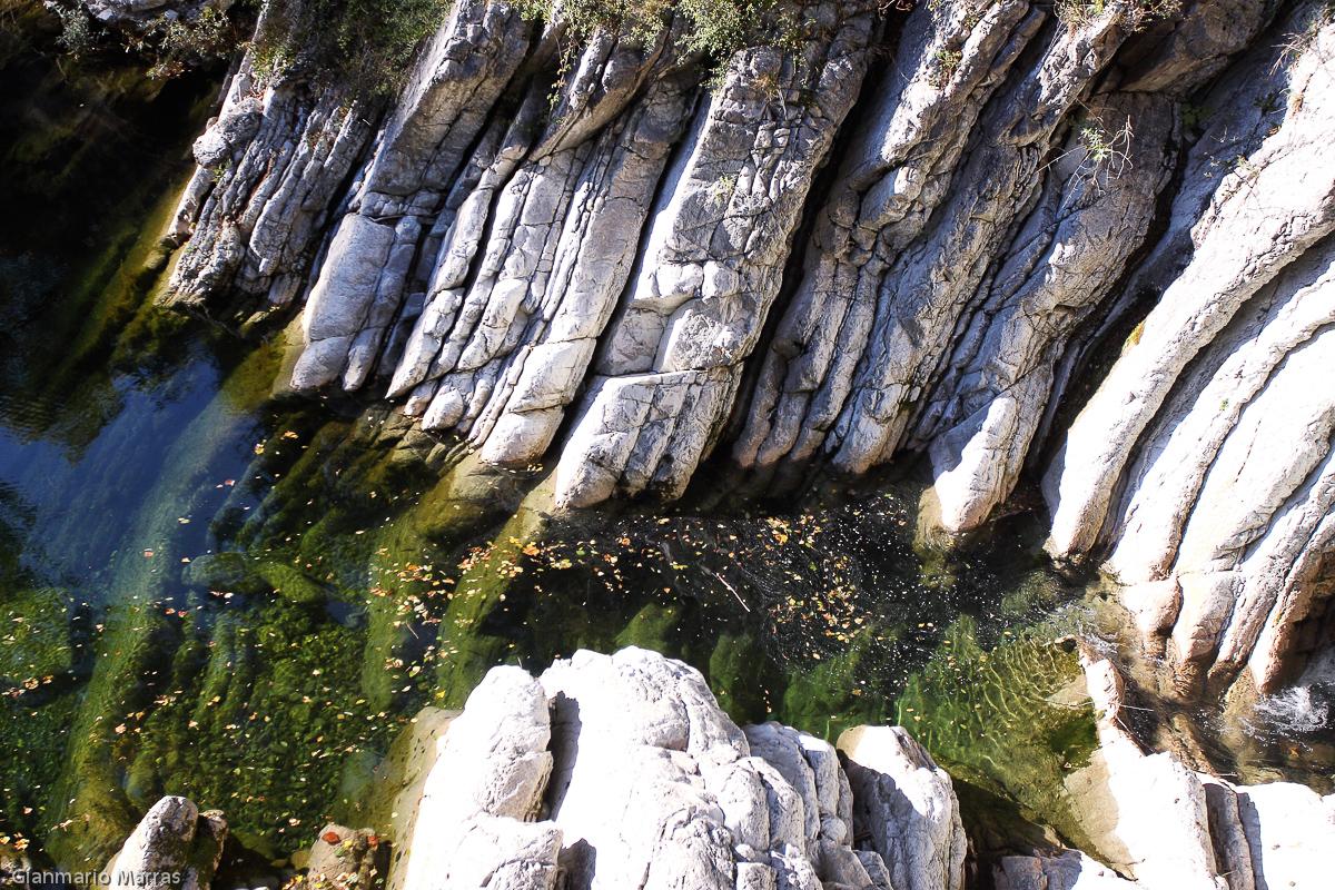 Canton Ticino - Il corso del torrente Breggia lungo solo 12 chilometri