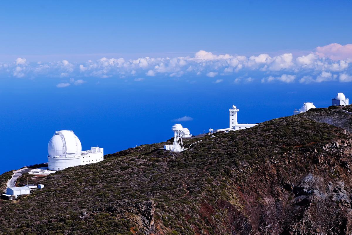 La Palma - Osservatorio del Roque de los Muchachos a 2.426 metri d'altitudine
