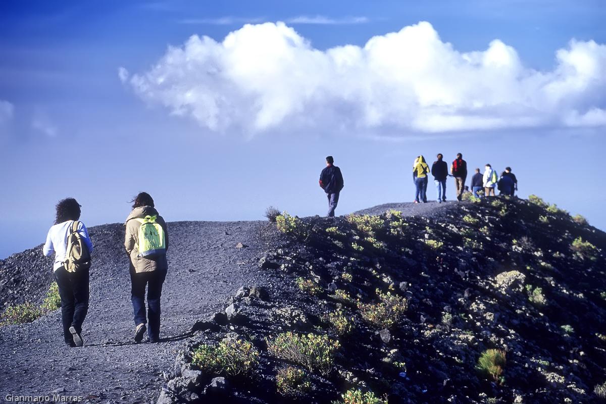 La Palma - Sentiero sul Vulcano San Antonio a 657 metri