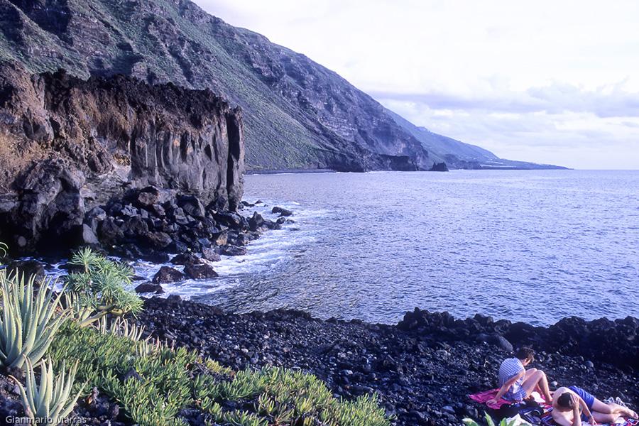 La Palma - La spiaggia di Charco Verde