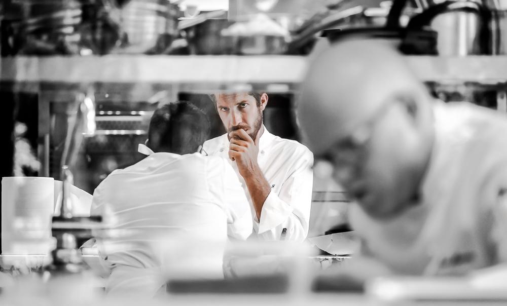 Philipp Fallmerayer, chef del ristorante Brix 0.1